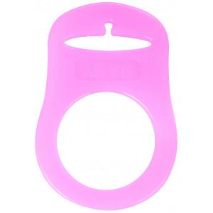 Suttekæde Adapter Pink 5x3 cm