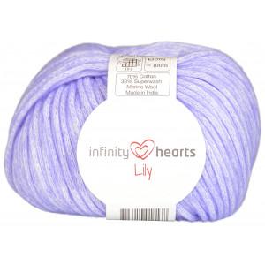 Infinity Hearts Lily Garn 13 Blålilla