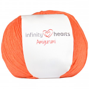 Infinity Hearts Amigurumi Garn 26 Orange