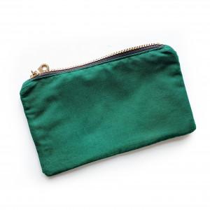 Lille taske med lommer af Rito Krea - Taske Syopskrift 21x12,5cm