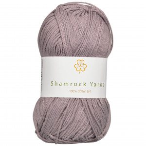 Shamrock Yarns 100% Bomuld 8/4 Garn 05 Grå