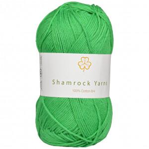 Shamrock Yarns 100% Bomuld 8/4 Garn 15 Frisk Grøn