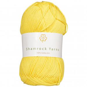 Shamrock Yarns 100% Bomuld 8/4 Garn 26 Gul