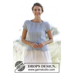 Charlotte by DROPS Design - Top Strikkeopskrift str. S - XXXL