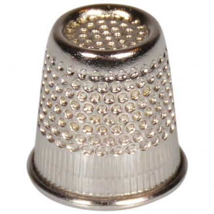Fingerbøl Sølvfarvet 16mm thumbnail
