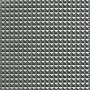 Kunstlæder Pyramider Stof 140cm 17 Lys grå metallic - 50cm
