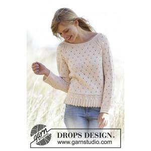 Vintage Charmer by DROPS Design - Bluse med snoninger Strikkeopskrift str. XS - XXXL