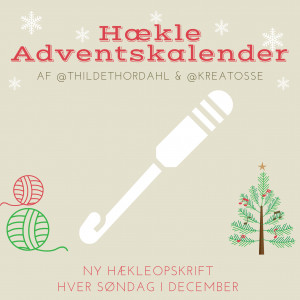 Adventskalender Jul 2020 - 4 Hækleopskrifter
