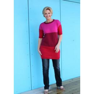 Mayflower T-shirt-kjole - Tunika Strikkeopskrift str. S - XXXL