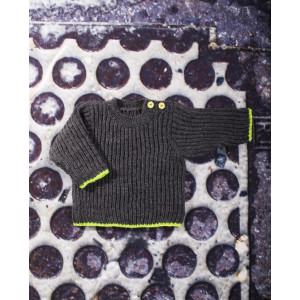 Mayflower Babybluse i Patent - Bluse Strikkekit str. 3 mdr - 6 år