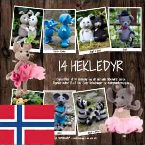 14 hekledyr - Norsk - Bog fra Go handmade