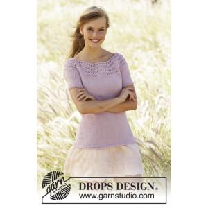 Becca by DROPS Design - Top Strikkeopskrift str. S - XXXL