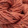 Erika Knight Gossypium Cotton Tweed Garn 7 Rust Rød