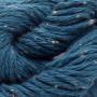 Erika Knight Gossypium Cotton Tweed Garn 12 Indigo