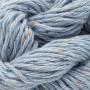 Erika Knight Gossypium Cotton Tweed Garn 15 Isblå