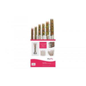 KnitPro Symfonie Strømpepindesæt Birk 20 cm 2,5-5 mm 6 størrelser