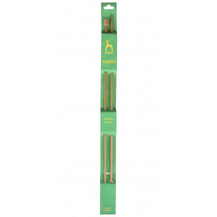 Pony Strikkepinde / Jumperpinde Bambus 33cm 3,00mm / 13in Us 2â½