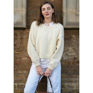 LinaSweateren Molly by Mayflower - Sweater Strikkeopskrift str. S-XXL