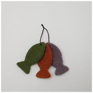3 små fisk - Sangkuffert af Rito Krea - Tre små fisk Hækleopskrift