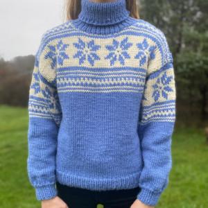 Nordisk Sweater af Knit by Nees - Garnpakke til Nordisk Sweater str. S-XL