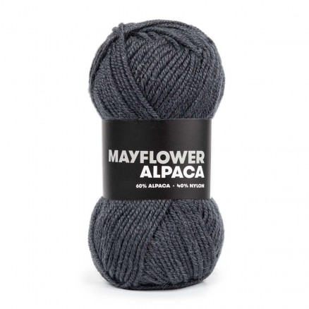 Mayflower Alpaca Garn 31 Stålgrå thumbnail
