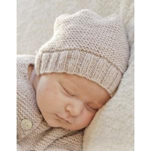 In my dreams by DROPS Design - Baby Hue Strikkeopskrift str. Præmatur - 3/4 år