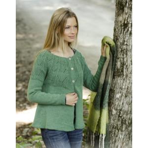 Green Echo Jacket by DROPS Design - Jakke Strikkeopskrift str. S - XXXL