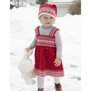 Miss Cookie by DROPS Design - Dress Strikkeopskrift str. 6 mdr-6 år