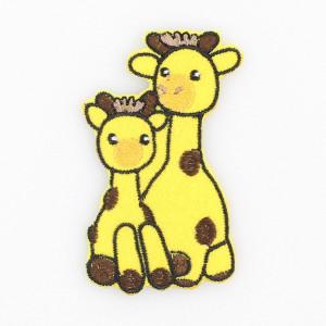 Go handmade Strygemærke Girafferne Lotta & Julie 7x4 cm - 1 stk