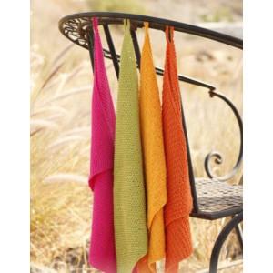 Summer Spices by DROPS Design - Håndklæder Strikkeopskrift 31x45 cm