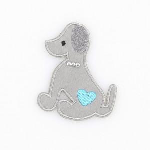 Go handmade Strygemærke Hunden Mulle 6x5 cm - 1 stk