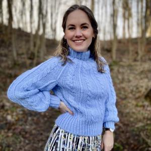 Snorlige sweater af Buelund Designs - Garnpakke til Snorlige sweater str. XS-XL