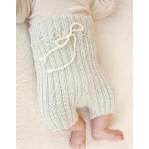 First Impression Shorts by DROPS Design - Baby shorts Strikkeopskrift str. Præmatur - 3/4 år