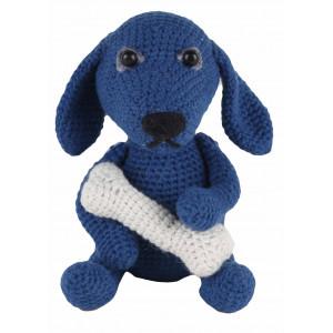 Go handmade Hæklekit Hunden Fido 18 cm