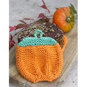 Roasted Pumpkin by DROPS Design - Grydelapper Halloween Strikkekit