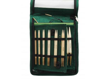 Knitpro Bamboo Udskiftelige Rundpindesæt Bambus 60-80-100 Cm 3-10 Mm 1