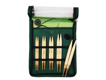 Knitpro Bamboo Udskiftelige Rundpindesæt Bambus 60-80-100 Cm 6-10 Mm 5