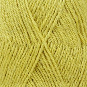 Drops Alpaca Garn Unicolor 2916 Mørk Lime