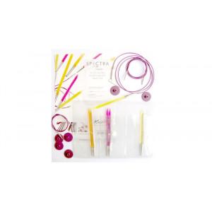 KnitPro Trendz Udskiftelige rundpindesæt Akryl 60-80-100 cm 4-6 mm 3 størrelser Startsæt