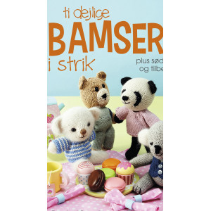Ti dejlige bamser i strik - Bog af Rachel Borello