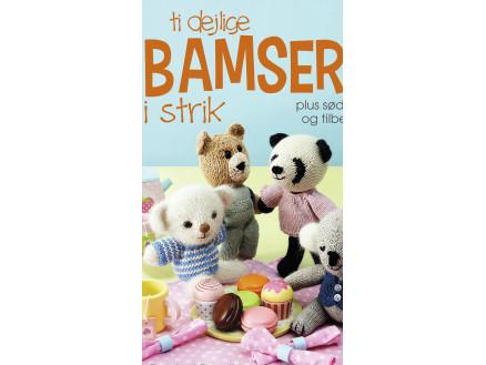 Image of   Ti dejlige bamser i strik - Bog af Rachel Borello