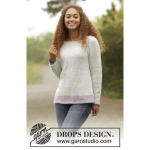 Lilla Camilla by DROPS Design - Bluse Strikkeopskrift str. S - XXXL
