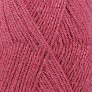 Drops Alpaca Garn Unicolor 3770 Mørk Rosa
