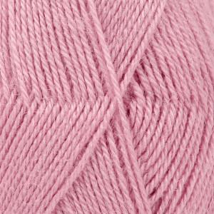 Drops Alpaca Garn Unicolor 3720 Mellem Rosa