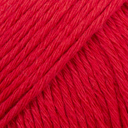 Drops Cotton Light Garn Unicolor 32 Rød thumbnail