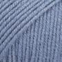 Drops Cotton Merino Garn Unicolor 16 Jeansblå