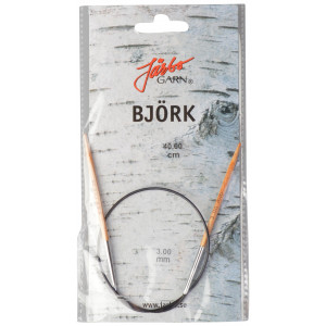 Image of   Järbo Björk Rundpinde Birk 40cm 3,00mm / 15.7in US2½