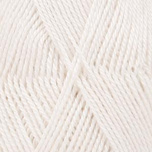 Drops BabyAlpaca Silk Garn Unicolor 1101 Hvid
