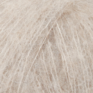 Drops Brushed Alpaca Silk Garn Unicolor 04 Lys Beige