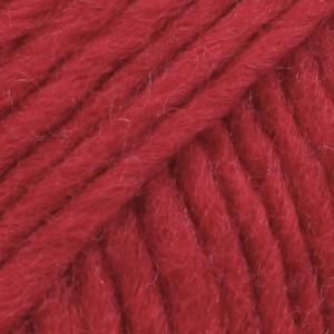 Drops Snow/Eskimo Garn Unicolor 08 Rød